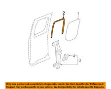 GM OEM Glass-Rear Door-Window Weatherstrip Seal Right 22840260