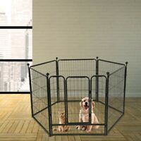 Pet Dog Playpen Play Yard Foldable Portable Pet Puppy Cat Exercise BarrierFence