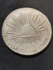 Mexico 1834 Zs OM 8 Reales *VF*