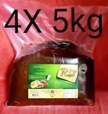 20 kg Pâte de Dattes - 100% Naturel - 4 x 5 kg Meilleur Dates Maamoul Datte