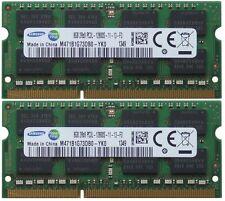 16GB (2x8GB) Samsung DDR3-1600 RAM 2Rx8 PC3L - 12800S - 11-13-F3 M471B1G73DB0-YKO
