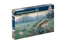 510006049 - Italeri 1 72 Accessori Campo di Battaglia WWII