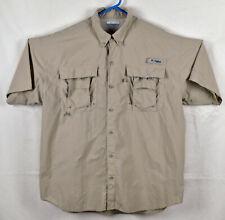 Columbia PFG Omni-Shade Vented Fishing Shirt Size Large
