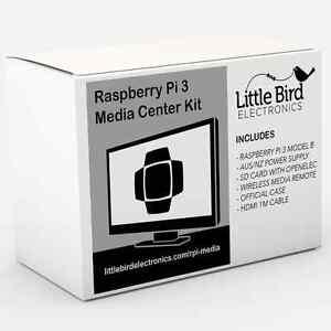 NEW Raspberry Pi 3 Media Center Kit