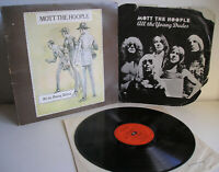Mott the hoople All the young dudes LP+insert UK 1st press