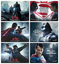 BATMAN V SUPERMAN BATTLE Movie - 3 Card Promo Set