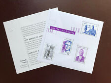 BLOC FEUILLET TIMBRES CHARLES DE GAULLE FRANCE 2020 NEUF