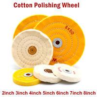 "2-8 "" Series Cloth Buffing Polishing Wheel Arbor Buffer Polish Grinder Wheel Pad"