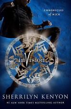 Invision by Sherrilyn Kenyon Chronicles of Nick Series Book 7  Hardcover DJ NEW