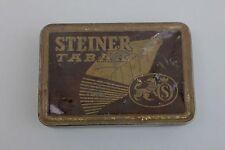 Steiner Tabak Blechdose