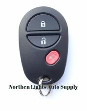 OEM Toyota Keyless Entry Remote Key Fob Transmitter Alarm GQ43VT20T 3 Button