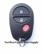 OEM Toyota Keyless Entry Remote Key Fob Transmitter Alarm GQ43VT20T 3 Button