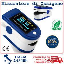 Saturimetro Per Misurare di Ossigeno Ossimetro Da Dito Pulsossimetro Portatile