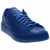 adidas CourtVantage Adicolor Tennis Shoes - Blue - Mens