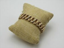 Vintage Signed Carmen The DFB Co. Expandable Sweetheart Bracelet