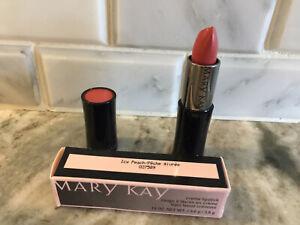 Mary Kay Creme Lipstick Icy Peach 027589 .13 oz New in Box NIB