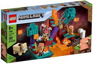 LEGO@ Minecraft The Warped Forest (21168) - Fast Dispatch  Free P&P