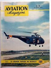 Aviation Magazine n°78 1953 : La grande parade du Bourget