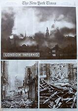 LONDON INFERNO ST PAUL - INDIAN ART - WHITNEY KARLOFF MET 1-1941 WWII January 19