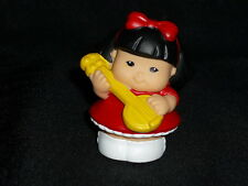 Fisher Price Little People July 4 Sonya Banjo Guitar Ne