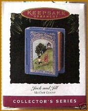 1995 HALLMARK MOTHER GOOSE JACK AND JILL BOOK VALUE $22