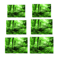 Aquarium Background Sticker Tropical Rainforest PVC Fish Tank Sticker Decal