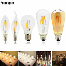 Vintage Dimmable E14 E27 LED Filament Candle Light Globe Bulb 2W 4W 6W 8W Lamp