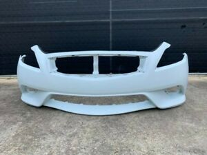 Bumper Cover Front Infiniti G37 Sport Coupe White Oem Factory 2008-2014