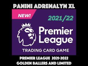 PANINI PREMIER LEAGUE ADRENALYN XL 2021/22 21/22 GOLDEN BALLER LIMITED EDITION