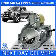 Si adatta ** automatico ** MITSUBISHI L200 MK3/MK4 2.5 TD 1996-2006 NUOVO Motore Di Avviamento