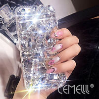 3D Stylis Luxury Bling Full Rhinestone Diamond Case Cover for iPhone 7 6 6S Plus