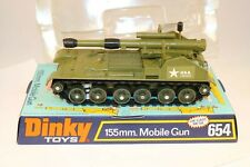 Dinky Toys 654 Mobile Gun near mint in box from a trade box so nice
