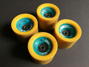 Sector 9 Dual Durometer 70mm 90a/78a Longboard Wheels (Set of 4)