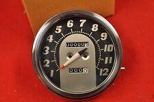 NEW 1962-67 Harley FLH Shovelhead Tombstone Speedometer Gauge, FL Speedo Panhead