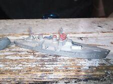 Tootsietoy Diecast Frigate Transport Vintage Us Navy Toy 1940's