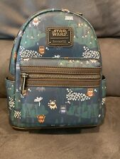 Loungefly Star Wars Ewok Forest Mini Backpack