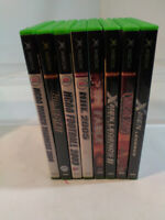 Lot of 8 Xbox 360 Game Assortment with Manuals - Bundle & Save