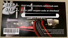 CableMod 20% off coupon