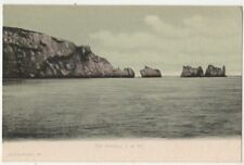 The Needles, Isle of Wight F.G.O. Stuart 162 Postcard B800