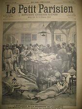LAGOUBRAN CATASTROPHE EXPLOSION DE LA POUDRIERE JOURNAL LE PETIT PARISIEN 1899