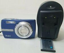 Olympus Stylus 820 8.0MP Digital Camera - Blue *GOOD/TESTED* FREE SHIPPING!