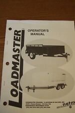LOADMASTER OPERATOR'S MANUAL FOR TRAILERS