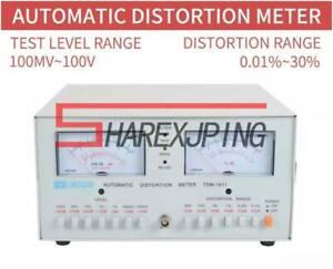 TDM-1911 Automatic Distortion Meter 0.01% - 30% Audio Distortion Meter 110/220V
