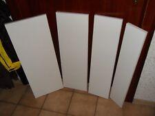 viele weiße Regalbretter, 30 25 20 15cm tief, 80cm breit, 2cm dick, Stückpreis