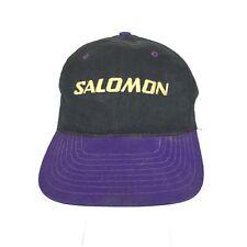 more photos dd57f 4dea5 Salomon Mens Snapback Baseball Cap Hat Dad Trucker 90s Vintage Ski