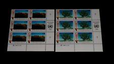 U.N. GENEVA #199-200, 1991, NAMIBIA, INSC. BLKS/6, NICE!! LQQK!!