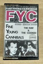 """FINE YOUNG CANNIBALS """"THE RAW & THE COOKED"""" MC MUSIKKASSETTE"""