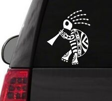 H160 KOKOPELLI TRIBAL TURTLE  DECAL CAR TRUCK WALL SURFACE LAPTOP