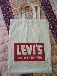 100/% Cotton. Levi's Shopping Bag BRAND NEW Shopper Beige Ecru