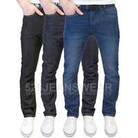Life & Glory Men's Branded Regular Fit Straight Leg Jeans with Free Belt, BNWT